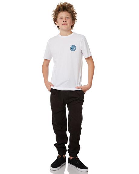 BLACK KIDS BOYS RUSTY PANTS - PAB0188BLK