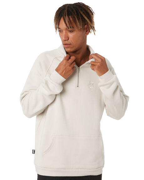 WHITE SAND MENS CLOTHING STUSSY HOODIES + SWEATS - ST011204WTSND