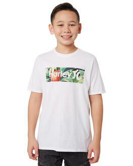 WHITE KIDS BOYS HURLEY TOPS - BQ1507100