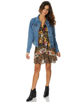 DENIM WOMENS CLOTHING THE HIDDEN WAY JACKETS - H8173381DENIM