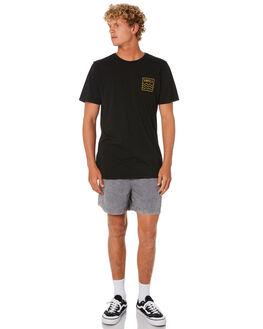 BLACK MENS CLOTHING INSIGHT BOARDSHORTS - 5000004836BLK