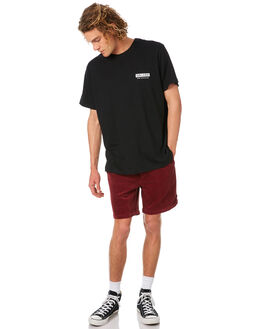 OXBLOOD MENS CLOTHING AFENDS SHORTS - M182354OXBL