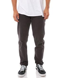 PIRATE BLACK MENS CLOTHING RVCA PANTS - R343271PBLK