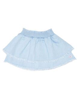 LIGHT BLUE KIDS TODDLER GIRLS EVES SISTER SHORTS + SKIRTS - 8021008LBU