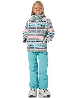 AZTEC BLUE BOARDSPORTS SNOW BILLABONG KIDS - L6JG02SAZTBL