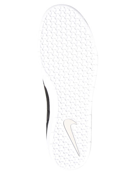 BLACK WHITE MENS FOOTWEAR NIKE SKATE SHOES - AH3360-003