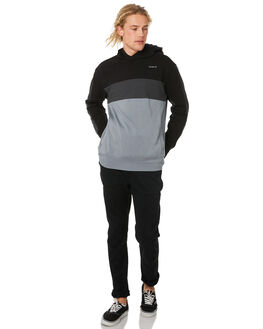 BLACK MENS CLOTHING HURLEY JUMPERS - CI7238010