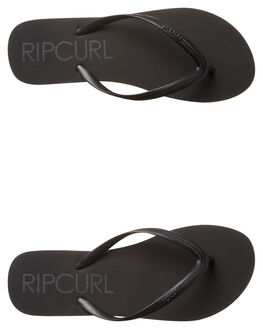 BLACK WOMENS FOOTWEAR RIP CURL THONGS - TWT4310090