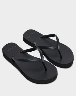 BLACK WOMENS FOOTWEAR RIP CURL THONGS - TWT4310090