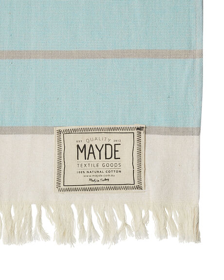 MINT GREY ACCESSORIES TOWELS MAYDE  - 16COTTMGMNTGR