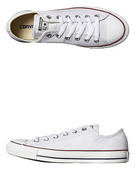 WHITE MENS FOOTWEAR CONVERSE SNEAKERS - SS132173WHIM