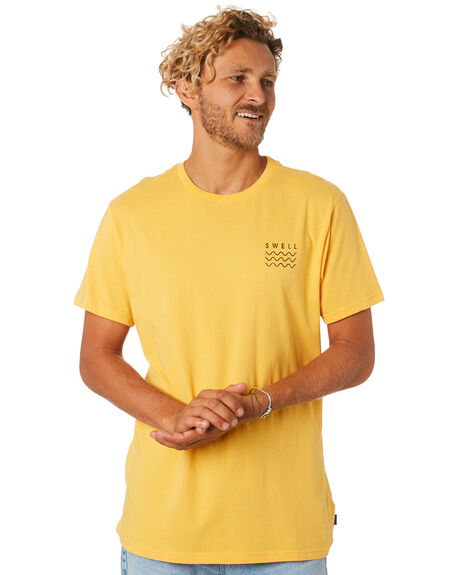 GOLD MENS CLOTHING SWELL TEES - S5184013GOLD