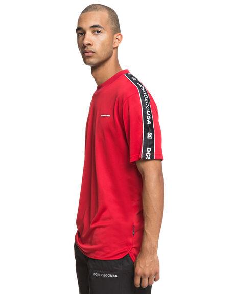 TANGO RED MENS CLOTHING DC SHOES TEES - EDYKT03423RRH0