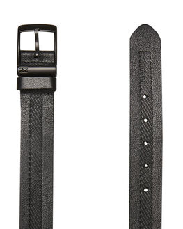 BLACK GRAIN MENS ACCESSORIES BILLABONG BELTS - 9695652BLKGR