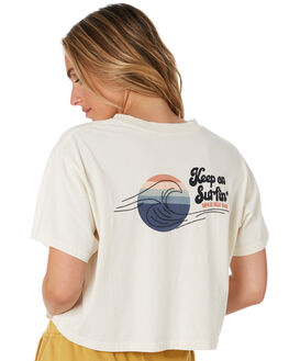 BONE WOMENS CLOTHING RIP CURL TEES - GTENH93021