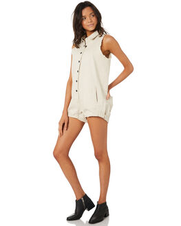 BONE WOMENS CLOTHING THE PEOPLE VS PLAYSUITS + OVERALLS - AW19W052BON