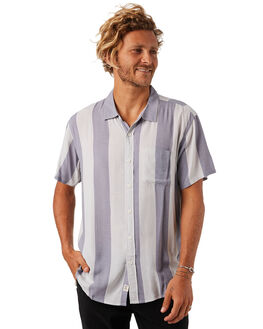 STEEL GREY MENS CLOTHING THE CRITICAL SLIDE SOCIETY SHIRTS - SS1823SGRY