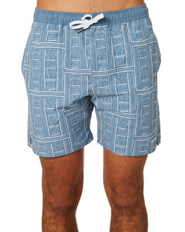 NAVY MENS CLOTHING RHYTHM BOARDSHORTS - JAN19M-JM06-NAV