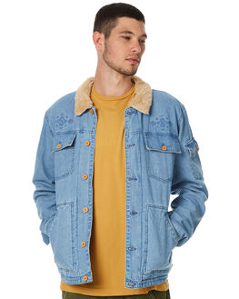 DENIM MENS CLOTHING THE CRITICAL SLIDE SOCIETY JACKETS - WSJ1703DNM