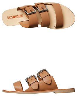 TAN WOMENS FOOTWEAR SOL SANA FASHION SANDALS - SS172S395TAN