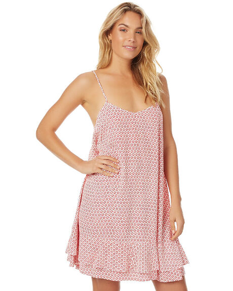 BENGAL ORANGE WOMENS CLOTHING TIGERLILY DRESSES - T362433BORG