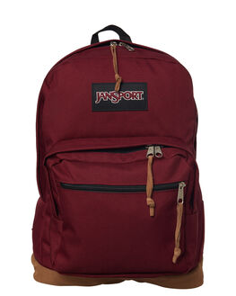 RUSSET RED MENS ACCESSORIES JANSPORT BAGS + BACKPACKS - JSTYP7JS04S