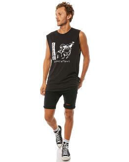 BLACK MENS CLOTHING INSIGHT SINGLETS - 5000000946BLK