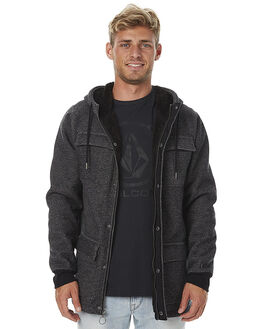 BLACK MENS CLOTHING VOLCOM JUMPERS - A5811701BLK