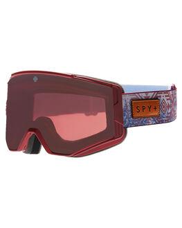 NATIVE NATURE RED BOARDSPORTS SNOW SPY GOGGLES - 310071955462NAT