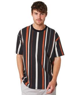 BLACK MULTI MENS CLOTHING ZANEROBE TEES - 165-VERBLKML