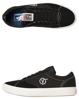 BLACK MENS FOOTWEAR VANS SNEAKERS - VNA3TKKBLKBLK