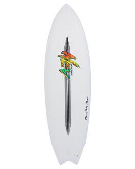 WHITE BOARDSPORTS SURF NEV SURFBOARDS - NEV-SMF-WHT