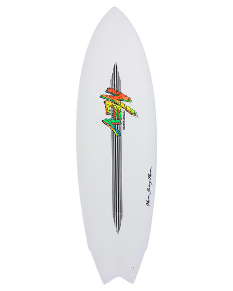 WHITE BOARDSPORTS SURF NEV SURFBOARDS - NEV-SMF-WHT