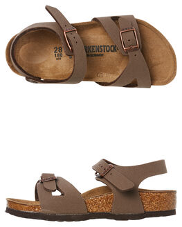 MOCCA KIDS BOYS BIRKENSTOCK THONGS - 1012506MOC