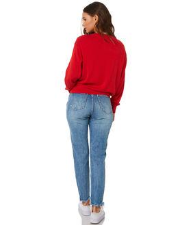 BANG BANG BLUE WOMENS CLOTHING WRANGLER JEANS - W-951340-KU1