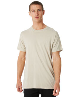 STRAW MENS CLOTHING BILLABONG TEES - 9572051STRAW