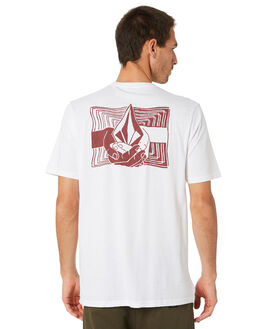 WHITE MENS CLOTHING VOLCOM TEES - A5001958WHT