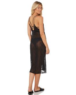 BLACK WOMENS CLOTHING HURLEY DRESSES - AQ4463-010
