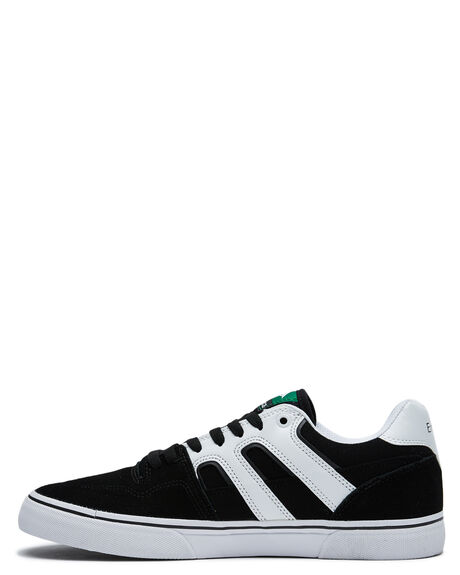 BLACK WHITE MENS FOOTWEAR EMERICA SNEAKERS - 6101000138976