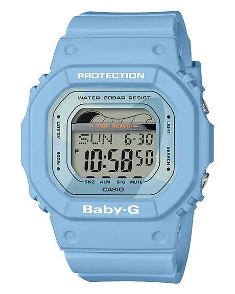 PASTEL BLUE WOMENS ACCESSORIES BABY G WATCHES - BLX560-2DPBLU