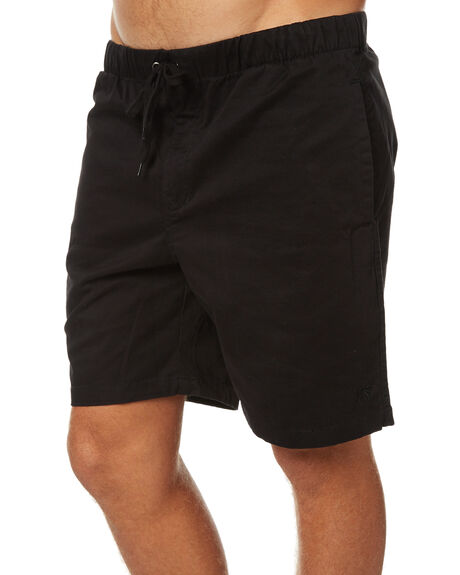 BLACK MENS CLOTHING SWELL SHORTS - S5173251BLK