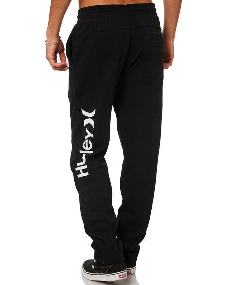 BLACK MENS CLOTHING HURLEY PANTS - CN7820H010