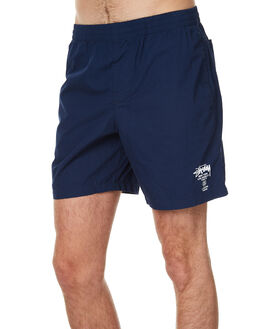 TRUE NAVY MENS CLOTHING STUSSY BOARDSHORTS - ST071606TNVY