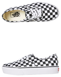 CHECKERBOARD WOMENS FOOTWEAR VANS SNEAKERS - SSVNA3AV8QXHW