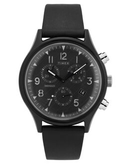 BLACK MENS ACCESSORIES TIMEX WATCHES - TW2T29500BLK
