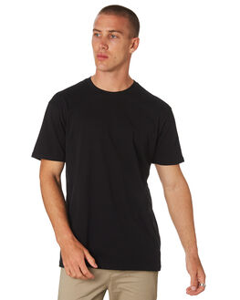 BLACK MENS CLOTHING AS COLOUR TEES - 5001GBLACK