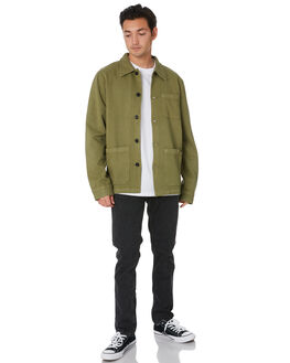 GREEN MENS CLOTHING NUDIE JEANS CO JACKETS - 160676G01