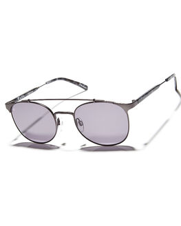 MATTE RIPPLE UNISEX ADULTS RAEN SUNGLASSES - RLH-M58-SMKMRIP