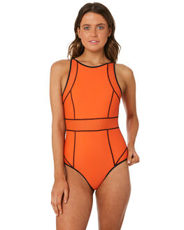BLACK WOMENS SWIMWEAR RIP CURL ONE PIECES - GSIBF20090