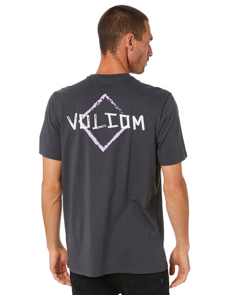 ASPHALT BLACK MENS CLOTHING VOLCOM TEES - A5002014ASB